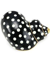 Kenneth Jay Lane - Polka Dot Snail Brooch - Lyst