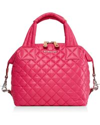 MZ Wallace - Small Sutton Oxford Quilted Satchel - Lyst