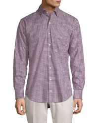 Peter Millar - Crown Ease Triberg Multicheck Shirt - Lyst