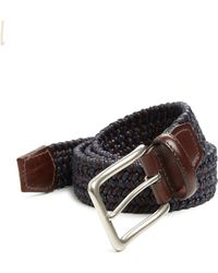 Saks Fifth Avenue - Braided Leather Belt - Lyst