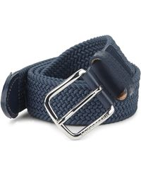 J.Lindeberg - Chapper Braided Belt - Lyst