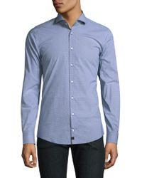 Strellson - Adrian Cotton Casual Button-down Shirt - Lyst