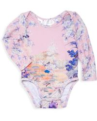 Camilla - Baby Girl's Long-sleeve Floral Bodysuit - Lyst