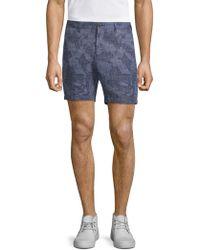Michael Kors - Regular-fit Printed Shorts - Lyst