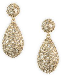 Alexis Bittar - Swarovski Crystal Pod Drop Earrings - Lyst