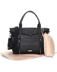 Storksak - Emma Leather Diaper Bag - Lyst