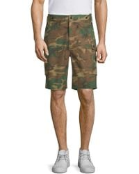 Ovadia And Sons - Storm Utility Camouflage Shorts - Lyst