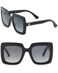 Gucci - Urban 53mm Square Sunglasses - Lyst