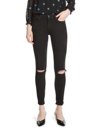 Maje - Priska Embroidered Jeans - Lyst