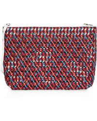 Elizabeth and James - Woven Pouch - Lyst