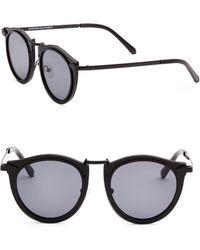 c3158100778 Karen Walker Superstars Feli 57mm Cat Eye Sunglasses in Metallic - Lyst
