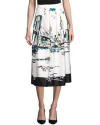 Lafayette 148 New York - Sabilla Silk New York Skirt - Lyst