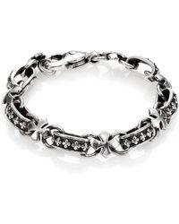 King Baby Studio - Cross Light Link Bracelet - Lyst
