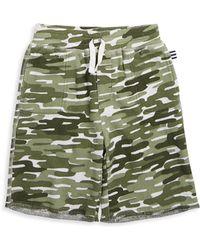 Splendid - Little Boys Camouflage Shorts - Lyst