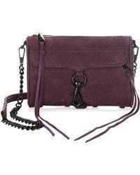 Rebecca Minkoff | Mini Mac Leather Crossbody Bag | Lyst