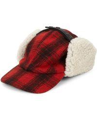 cbf25efe570 Lyst - Canada Goose Shearling Fur Pilot Hat in Natural for Men
