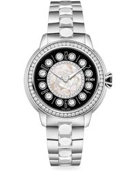 1f8f178b1d8 Lyst - Gucci Women s Diamond Bezel Bracelet Watch in Metallic