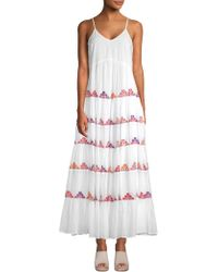 Carolina K - Marieta Tiered Maxi Dress - Lyst