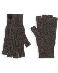 Rag & Bone - Ace Cashmere Fingerless Gloves - Lyst