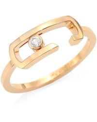 Messika - By Gigi Hadid Move Addiction Diamond Ring - Lyst