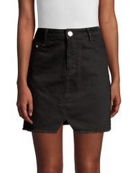 Maje - Short Denim Mini Skirt - Lyst