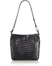 Nancy Gonzalez - Small Crocodile Crossbody Bag - Lyst