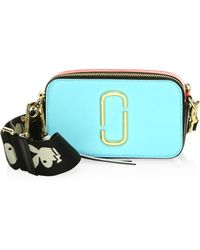 Marc Jacobs - Snapshot Small Camera Bag Turquoise - Lyst
