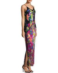 Etro - Mille Fleur Jersey Floral Dress - Lyst