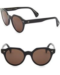 0fb97a0696e Dior. Technologic 57mm Brow Bar Sunglasses.  585. Nordstrom · Oliver  Peoples - Irven 50mm Pantos Sunglasses - Lyst