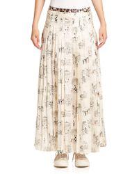 La Prestic Ouiston - Gabrielle Printed Maxi Skirt - Lyst