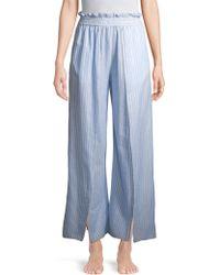 Jonathan Simkhai - Striped Fisherman Pajama Pants - Lyst
