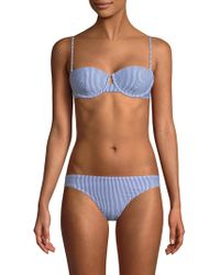 Solé East - Full Coverage Two-piece Bikini Set - Lyst