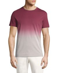Theory - Gaskell Dip-dye Jersey Tee - Lyst
