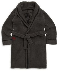 Barefoot Dreams Boy's Mickey Mouse Flannel Robe