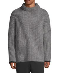 657d0a283136 3.1 Phillip Lim - Long Sleeve Chunky Sweater - Lyst