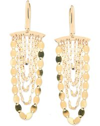 Lana Jewelry - Small Nude Cascade Earrings - Lyst