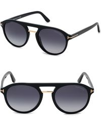 9c4f56a1cb0a5 Lyst - Tom Ford Ivan Sunglasses in Black for Men