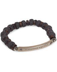 Alexander McQueen - Multi-bead Bracelet - Lyst