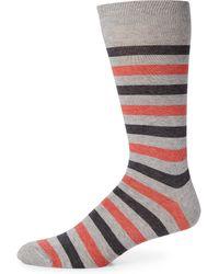 Saks Fifth Avenue | Striped Rugby Socks | Lyst