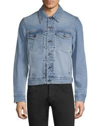 Rag & Bone - Classic Denim Jacket - Lyst