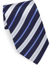 Eton of Sweden - Navy Stripe Tie - Lyst