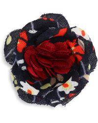 Hook + Albert - La Kelly Lapel Flower - Lyst