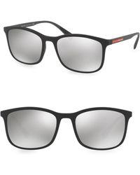 Prada - Linea Rossa 56mm Tinted Sunglasses - Lyst