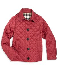 Burberry | Little Girl's & Girl's Ashurst Quilt Jacket | Lyst