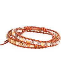 Chan Luu - African Opal Mix Double-wrap Bracelet - Lyst