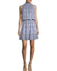 Shoshanna - Beatrice Silk Dress - Lyst