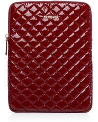 """MZ Wallace - Cranberry Lacquer 15"""" Computer Case - Lyst"""