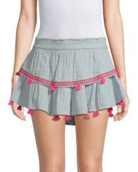 Generation Love - Delia Tassels Mini Skirt - Lyst