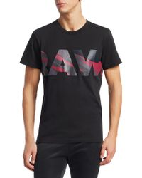 G-Star RAW - Zeabel Front Graphic T-shirt - Lyst