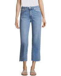 Joe's - High-rise Cropped Jeans - Lyst